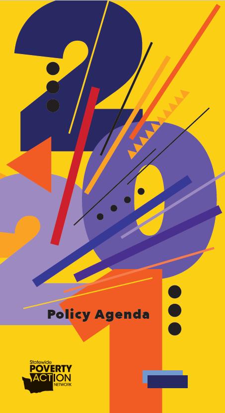 2021 Policy Agenda cover