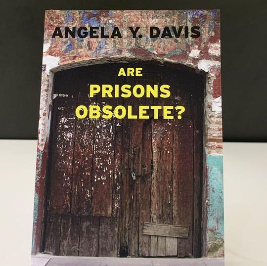 Book Cover reads: Angela Y Davis Are Prisons Obsolete?